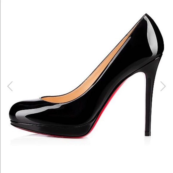 ec5a392330d5 Christian Louboutin Shoes - Christian Louboutin patent new simple 120 pump  39
